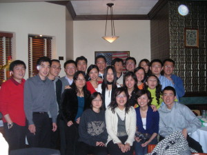 We provided homestays for a group of accountants from Asia.