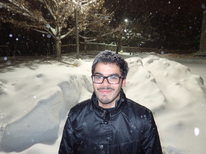First time experiencing snow!