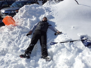 From the host desert to making a snow angel in Washington DC