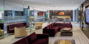 Lounge with free coffee service