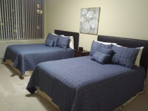 Full-sized double room options