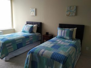Twin-sized double room